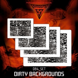 Dirty Backgrounds DB4 SET